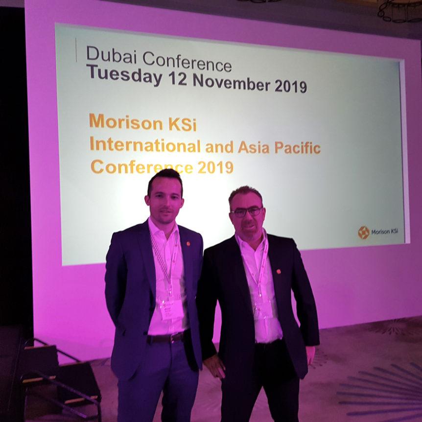 cabinet CSF & Associé à la conférence Morison à Dubaï