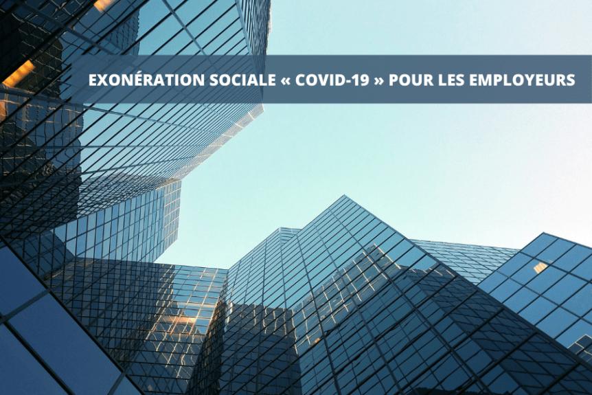 Exonération sociale covid 19